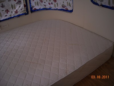 Another example of an RV Mattress made by Rocky Mountain Mattress