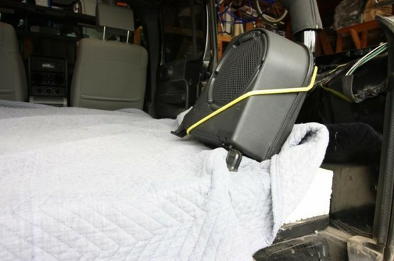 Another pic of a custom mattress we made for a Jeep Rubicon Unlimited