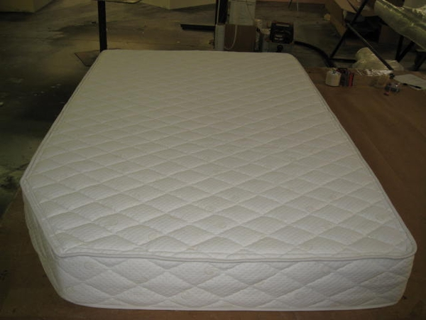 Custom RV Mattress example made by Rocky Mountain Mattress
